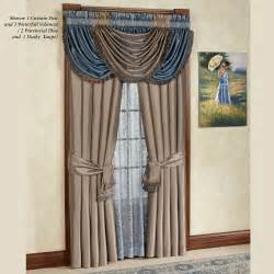 royale waterfall valance window treatment