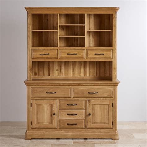 Oak Dresser Uk by Canterbury Large Dresser Solid Oak Oak