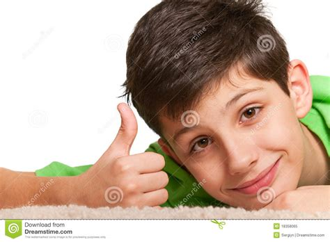 how to look happy sly look of happy boy stock image image of green hair 18358065