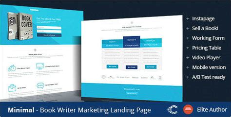 ebook landing page template 19 ebook landing page templates free premium templates