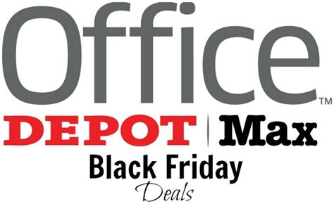 office depot coupons nov 2014 office depot and office max black friday deals become a