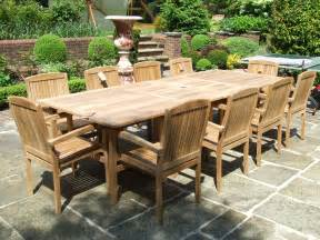 Patio Furniture Teak Teak Outdoor Furniture Alternative Homeblu