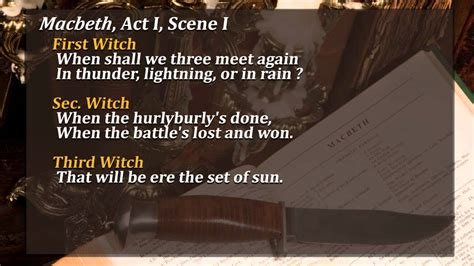 biblical themes in macbeth macbeth act 1 scene 1 analysis youtube