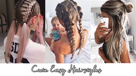 Easy And Hairstyles by Easy Hairstyles Hairstyle In 2018