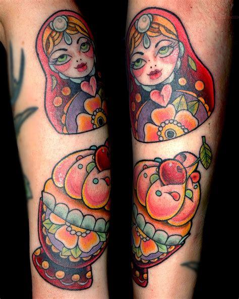 matryoshka tattoo ideas matryoshka doll