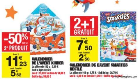 Calendrier Kinder Carrefour Calendrier De L Avent Kinder 2014 Moins Cher Auchan
