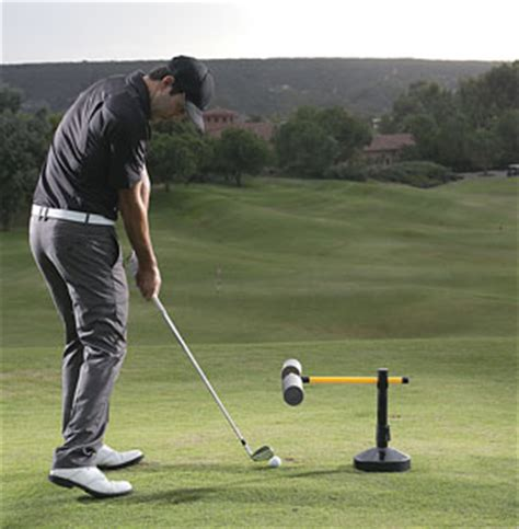 golf swing driver slice com sklz slice eliminator swing path trainer