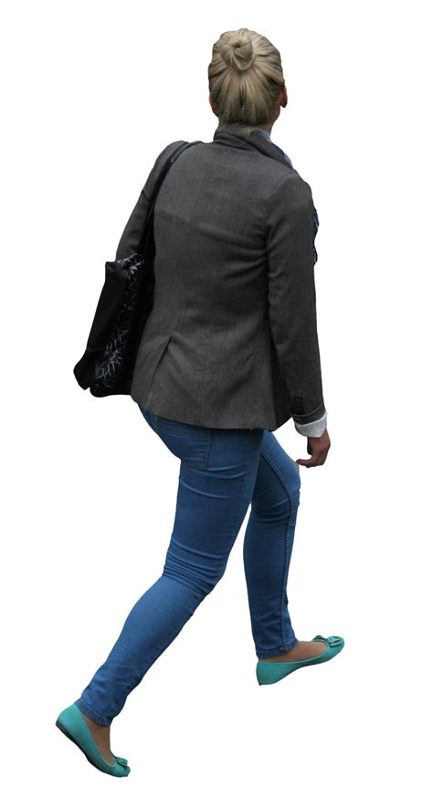 Jaket Biru Elektrik hitam berjalan thepix 1440 2657 transparan png
