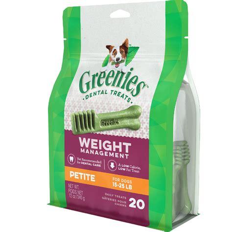 weight management greenies greenies weight management 20 bones 12oz