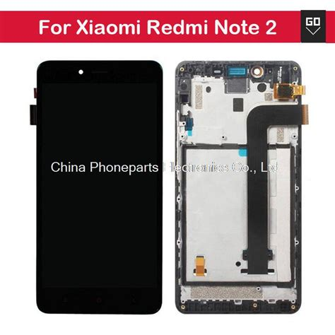 Lcd Xiaomi Redmi Note for xiaomi redmi note 2 lcd display digitizer frame for redmi note2 touch screen assembly