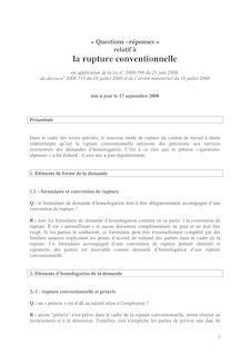 Modèle Convention Rupture Conventionnelle
