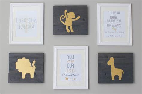 diy free printable wall art free printable nursery wall art erin spain