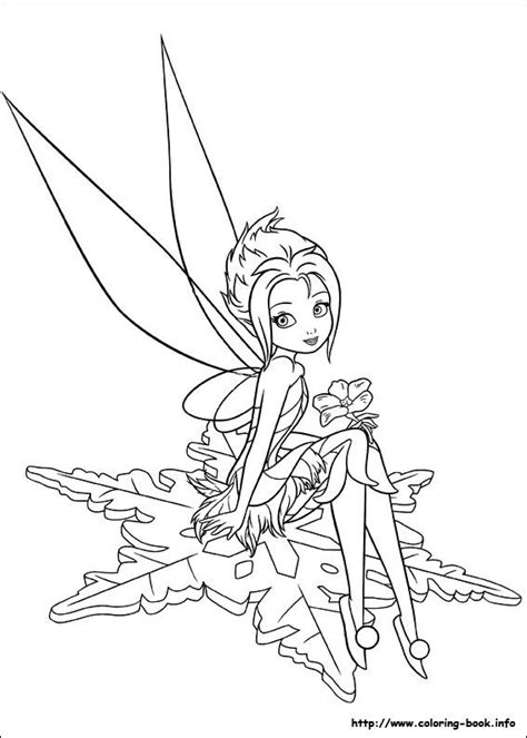 secret of the wings coloring picture tinkerbell