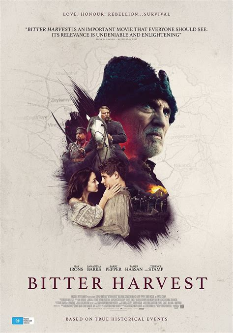 movie schedule bitter harvest 2017 review bitter harvest the reel bits