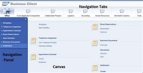 sap nwbc tutorial sap netweaver nw business client