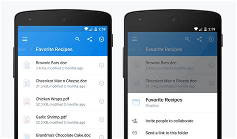 dropbox for android dropbox for android better faster redesigned dropbox