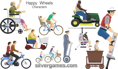 happy wheels full version new characters happy wheels free online game on silvergames com