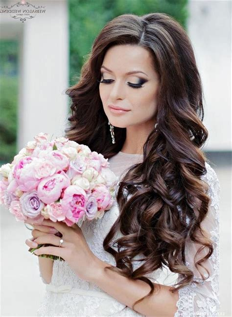 Wedding Hairstyles With Curls by 15 Ideas Of Hairstyles Curls Wedding