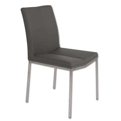 cecil dining chair grey buy faux leather chairs