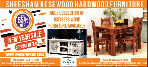 new year furniture sale sheesham rosewood hardwood furniture upto 55 new year