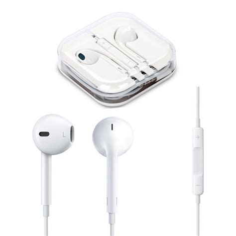 1pc headset earbuds earphones with remote mic for apple iphone 4 5 6 wholesale ebay