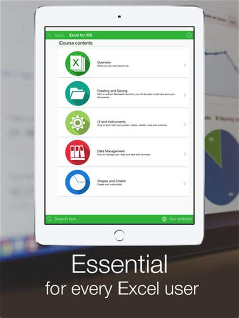 tutorial excel en ipad tutorial for excel for iphone ipad help tips on the