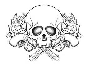 skull color coloring pages skulls coloring home