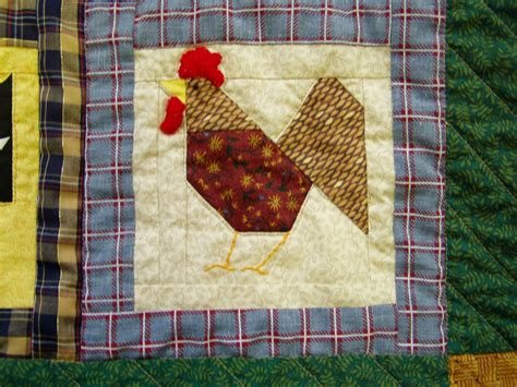 Patchwork Animals - farm animal quilt patchwork of