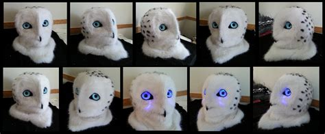 Snow Owl Papercraft By Elfbiter On Deviantart - snowy owl by curiouscreatures on deviantart