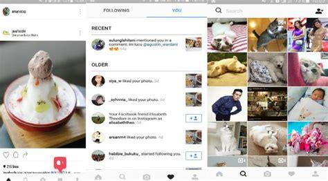 layout untuk instagram ubah logo dan tilan instagram tuai kritikan tekno