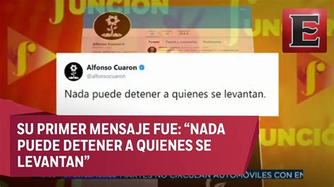 alfonso cuaron twitter alfonso cuar 243 n abre twitter para solidarizarse con m 233 xico