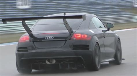 Audi Tt Rs Sound by 611hp Audi Tt Rs Sounds On Track Youtube