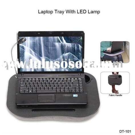 lighted laptop desk tray portable laptop computer cushion with light as seen on tv