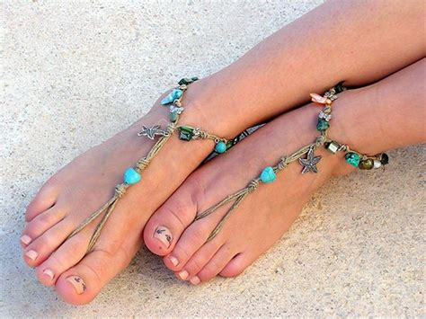 how to make beaded barefoot sandals hemp barefoot sandals how to make barefoot sandals and