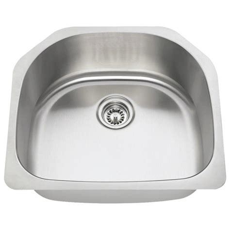 direct mount sink mr direct undermount stainless steel 24 in single bowl