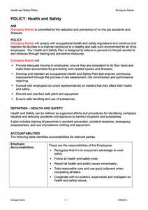 health and safety policy template safety plan template now digital documents direct