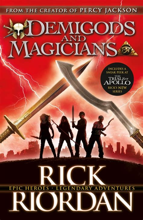 the and of it stories from the chronicles of st s books demigods and magicians three stories from the world of