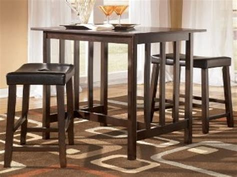 Dining Table With Matching Bar Stools by Bar Table Height Dining Tables For Small Spaces Dining