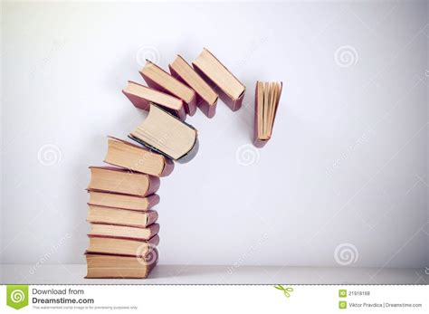 the of falling books falling books royalty free stock photos image 21918168