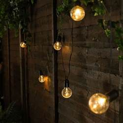 festoon lights outdoor outdoor battery festoon lights 10 warm white leds clear
