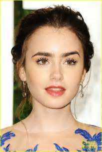 Vanity Fair Corporation Lily Collins Vanity Fair Oscar Party 涼しい目元 セレブ
