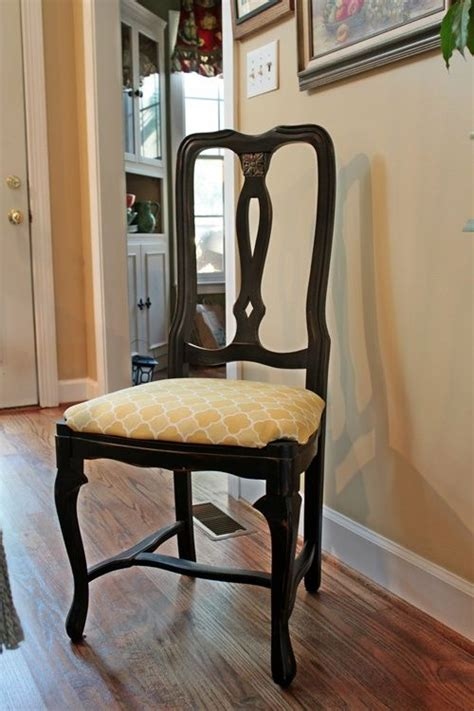 Recover Dining Room Chairs by How To Recover With Fabric Furniture