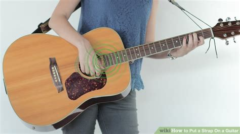 how to put on a fender in a 2010 aston martin vantage 3 ways to put a strap on a guitar wikihow