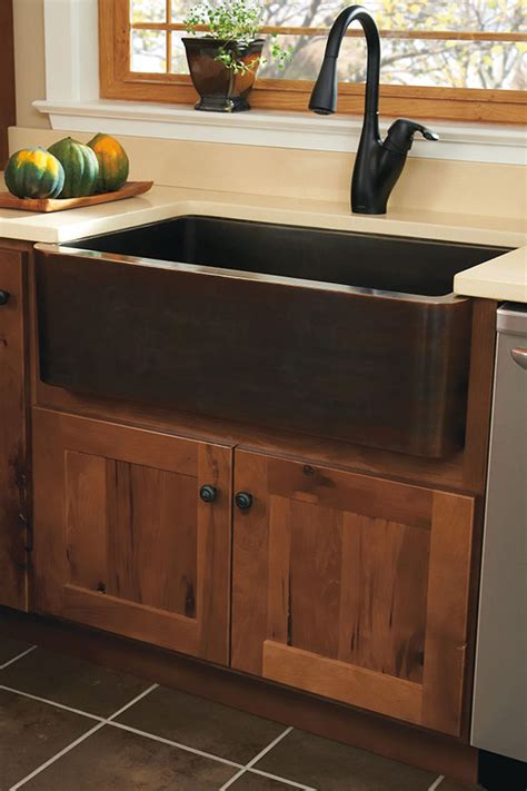 Country Sinking by Country Sink Base Homecrest Cabinetry
