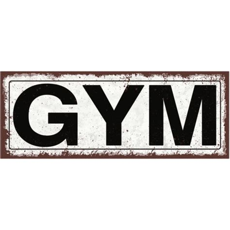 Pink And Gray Bedroom gym metal street sign
