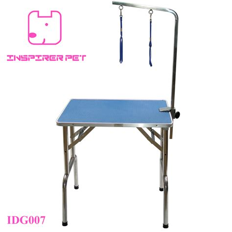 China Stainless Steel Pet Grooming Table Stainless