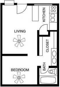 Floor Plans For One Bedroom Apartments by Studio 1 Amp 2 Bedroom Apartment Floor Plans In Tucson Az