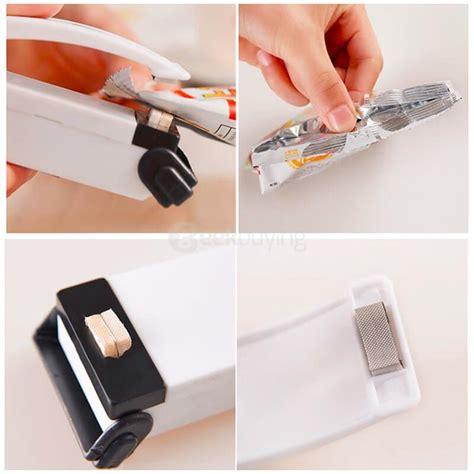 Mini Handy Portable Plastik Sealer Sealer Plastik Murah mini portable handy plastic bag sealer sealing machine