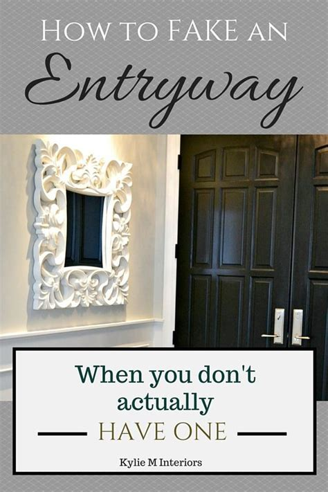 foyer open to living room 5 ideas how to make an entryway when you don t