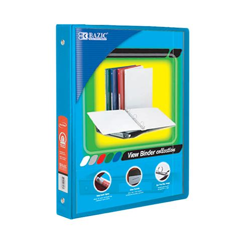 cheap half inch view binders bulk view binders